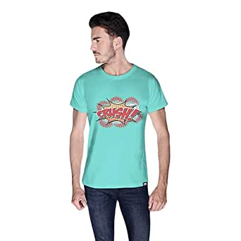 Cero Crush Retro T-Shirt For Men - S, Green