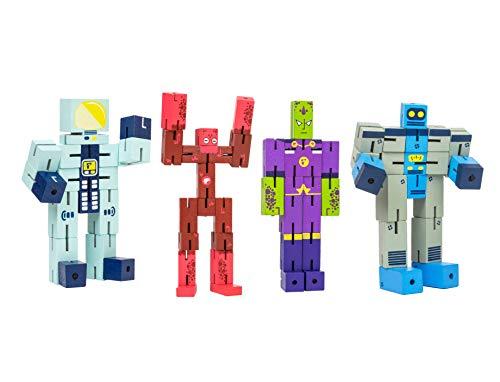 3-D Puzzle Planet Set: Emperor/Astro / Alien/Robot