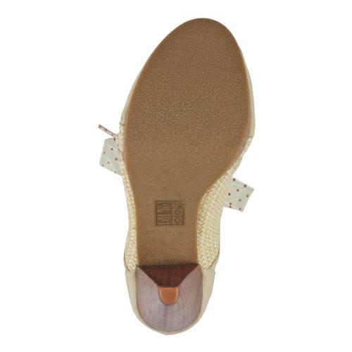 beige Zapatos Poetic De Para License Vestir White Mujer 0BBpq5