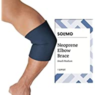 Amazon Brand - Solimo Elbow Brace, Small/Medium
