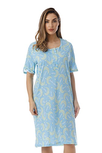Just Love Short Sleeve Nightgown Sleep Dress for Women Sleepwear 4360-10296-M