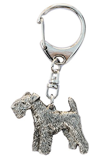Lakeland Terrier Made in U.K Artistic Style Dog Key Ring Collection