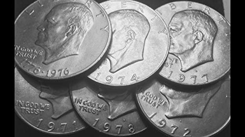 (1971 to 1978 U.S. Eisenhower Ike Dollar Coins - Set of 2 coins - different dates - $1 Collector Coins)