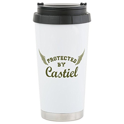 CafePress SUPERNATURAL Protected armygreen Stainless