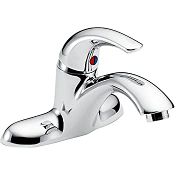 Delta Faucet 22c131 22t Single Handle Centerset Bathroom