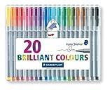 STD334SB20A6 - Staedtler Triplus Fineliner Pens (2, 1 Pack)