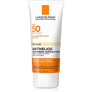 La Roche-Posay Anthelios Mineral Sunscreen Gentle Lotion, 3 Fl Oz