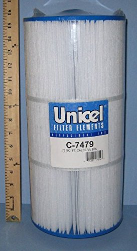 Unicel C-7479 Replacement Filter Cartridge for 75 Square Foot Caldera ()
