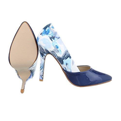 Ital-Design - Plataforma Mujer Blau Multi