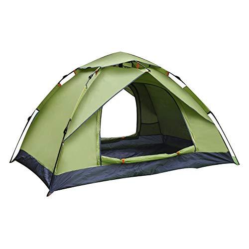 TARTIERY Zelt Im Freien, 3-4 Personen Campingzelt 200 230 140cm, Tragbarer Automatischer Sonnenschutz Sonnenschutzzelt, Camping Zelt Wasserdicht, Geeignet Für Camping, Reisen, Park Usw