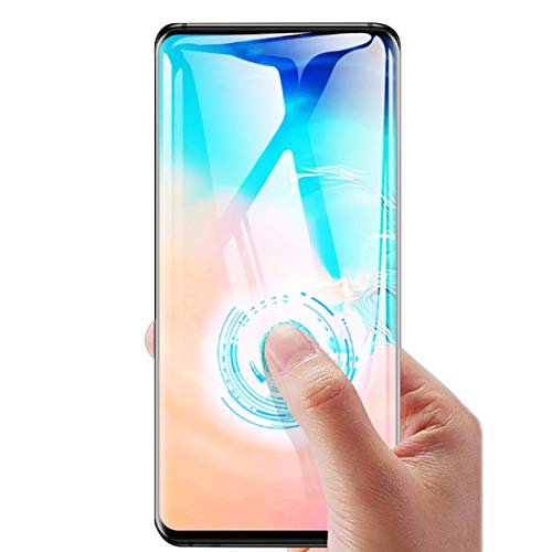 (Gorilla Gadgets Screen Protector with Fingerprint Sensor for Samsung Galaxy S10 0.25mm Tempered Glass Screen Protector with Advanced Clarity [3D Touch] Work with Most Case 99% Touch Accurate)