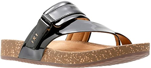 CLARKS Women's Rosilla Durham Black Patent Leather 8.5 B US - Durham Leather