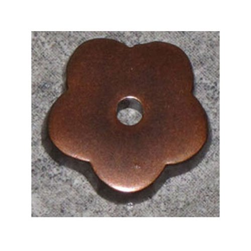 Top Knobs Top Knobs Aspen Flower Backplate, Mahogany Bronze, Metal ()