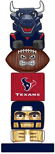 (NFL Officially Licensed Houston Texans Tiki Totem Lawn Garden Statue)