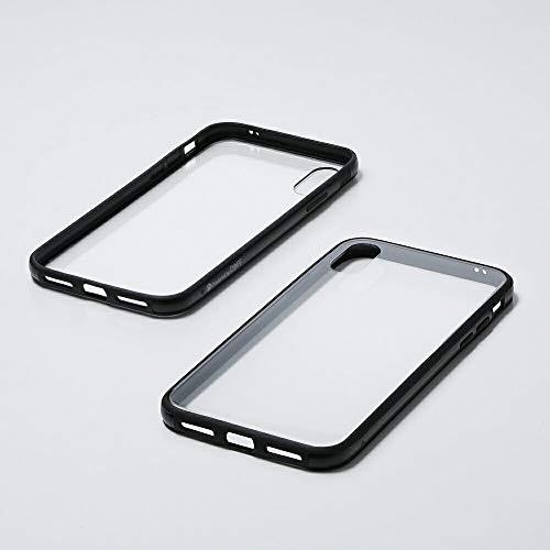 に負けるモディッシュキリストDeff(ディーフ) Hybrid Case Etanze for iPhone XR(アクリル)ハイブリッドケース エタンゼ iPhoneXR対応 (ブラック)