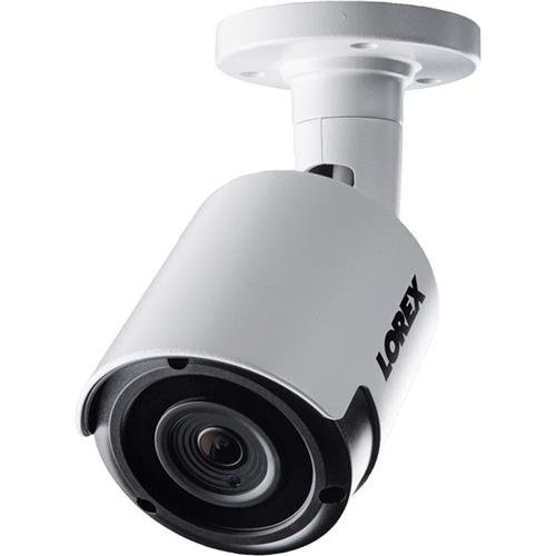 Lorex LKB343B Indoor/Outdoor 2K IP Bullet Security Camera White