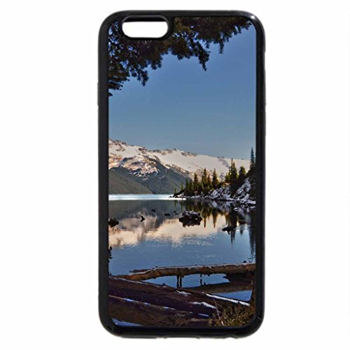 iPhone 6S / iPhone 6 Case (Black) Winter's First Frost
