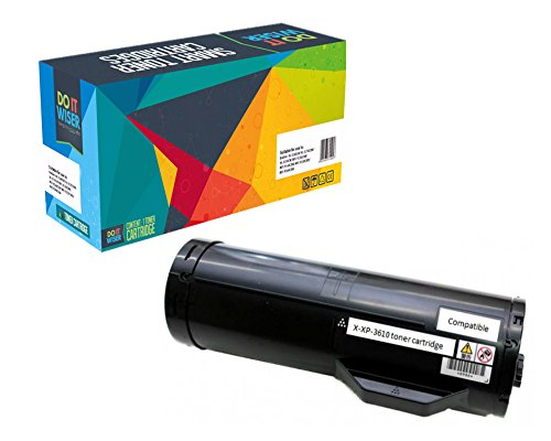 Do it Wiser Compatible Extra High YieldToner Cartridge Replacement for Xerox Phaser 3610 WorkCentre 3615  Black