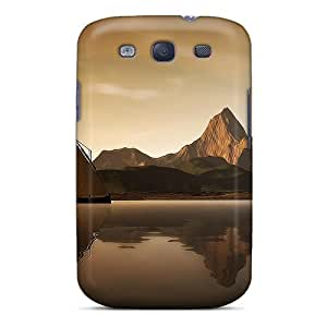 JVEpv3939HTSpm Case Cover Island Galaxy S3 Protective Case