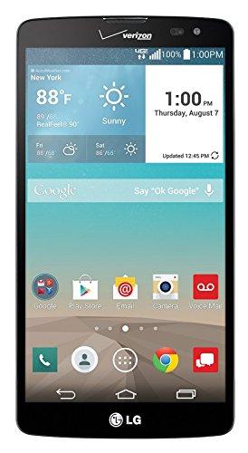 LG G Vista VS880 Verizon 4G LTE Quad-Core Android Phone W/ 8MP Camera - Black (Certified Refurbished)