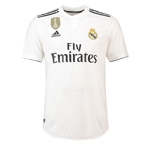 adidas 2018-2019 Real Madrid Authentic Home Football Shirt -