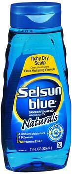 Selsun Blue Naturals Dandruff Shampoo Itchy Dry Scalp - 11 oz, Pack of 5 by Selsun Blue
