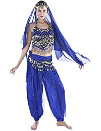 12 Colors Belly Dance Costumes India Dance Outfit Halloween Carnival