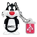 EMTEC Looney Tunes 4 GB USB 2.0 Flash Drive, Sylvester the Cat