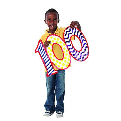 Roylco R75423 NEW 2014 Roylco 100 Days of School Finger Paint Paper -