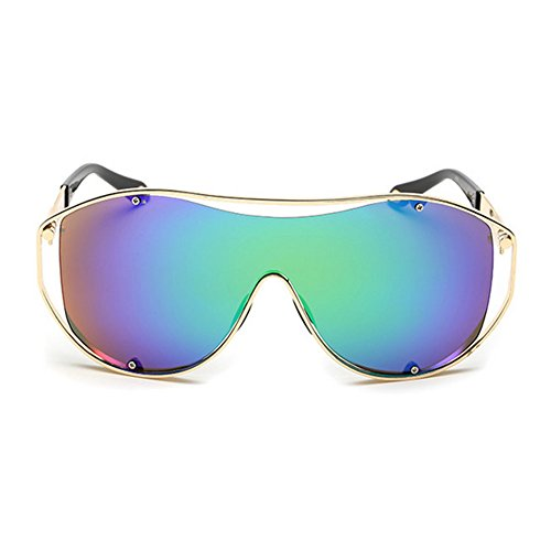 ZHOUKE Unisex Metal Colorful Sports Connection - Tacchini Sunglasses