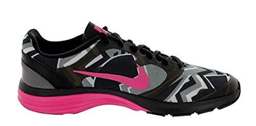 Nike Kvinners Dual Fusion St Print Canyon Grå / Pnk Folie / Blk / Hvit Trening Sko 9,5 Kvinner Oss