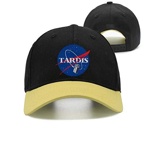 Yang-C Men Women NASA-Tardis-Doctor-Who- Plain Baseball Cap Adjustable Unisex Visor Hat