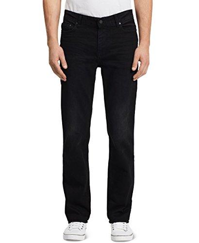Calvin Klein Jeans Men's Straight Leg Jean In Worn Black,...