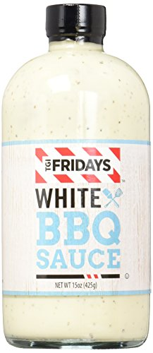 TGI FRIDAYS BBQ Sauce, White, 15 Ounce