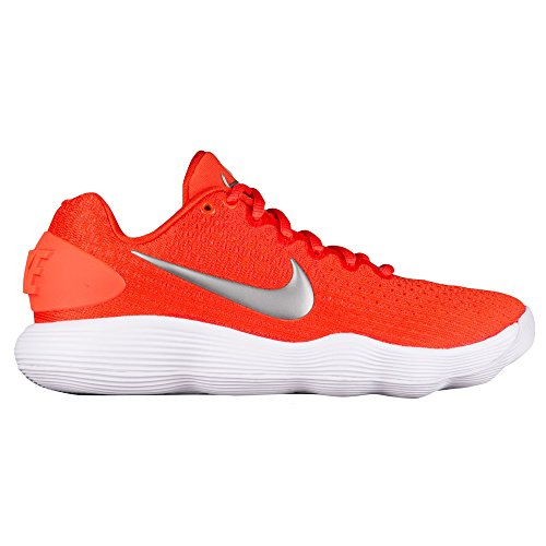 Nike Wmns Hyperdunk 2017 Lave Tb Dame 897.812-800 Hold Orange / Metallisk Sølv-hvid uuuUiGi