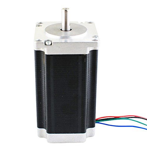 Low Current Nema 23 CNC Stepper Motor 1.8A 340oz.in/2.4Nm CNC Mill Lathe Router by STEPPERONLINE (Image #1)