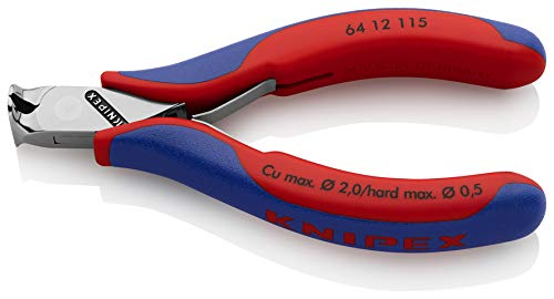 115 mm Knipex 64 12 115 electronics end cutting nippers
