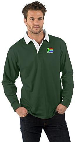 Sudáfrica Bandera de Manga Larga Camisa de Rugby - South ...