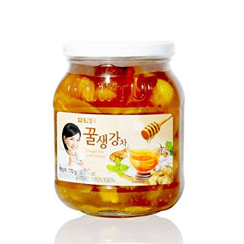 - DAMTUH Honey Ginger Tea, Ginger with Honey, 27.16 Ounces, One Bottle (770g)
