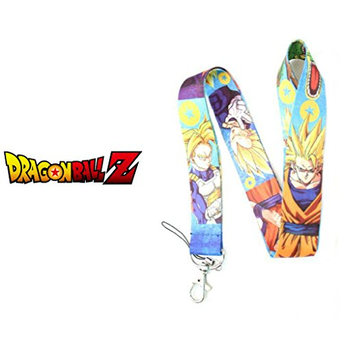 Anime Dragonball Z 19 Lanyard Key Chain ID MP3 Badge Holder By Athena