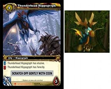 World of Warcraft Heroes of Azeroth WOW Single Card Thunderhead Hippogryph 2/.