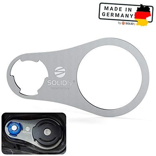 🥇 SOLIDfy AdBlue – Cierre de seguridad de acero inoxidable para Fiat Ducato