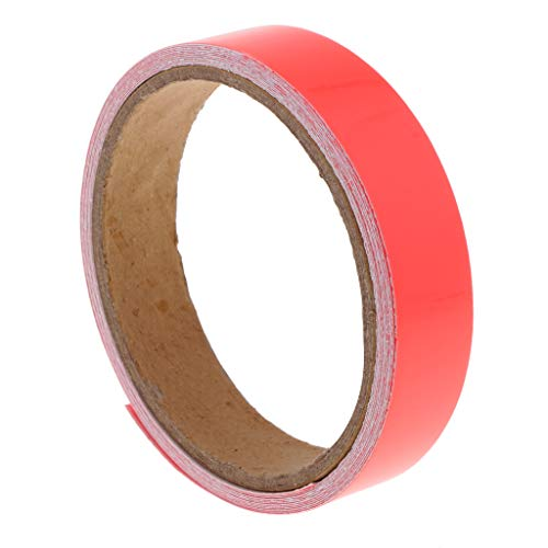 SM SunniMix 3 Meters UV Blacklight Tape, Glow in The Dark Tape, Neon Luminous Adhesive Tape Sticker, Glow Party, Birthday, Halloween Party, Stage, Decoration - Watermelon red]()