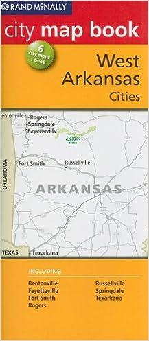 Rand McNally City Map Book Western Arkansas Cities: 6 City Maps 1 ...