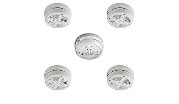 4 x BRK 770 MBX Mains detectores de humo + 1 x 790 MBX corriente detector de calor: Amazon.es: Bricolaje y herramientas