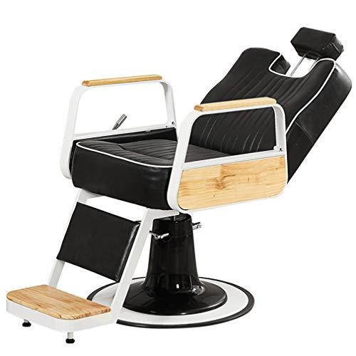 Como Heavy Duty Hydraulic Recline Barber Chair,Salon Chair,Tattoo Chair, Barber Salon Equipment