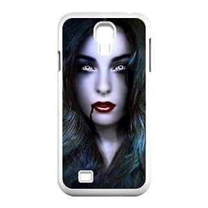 Samsung Galaxy S4 9500 Cell Phone Case White Vampire iex