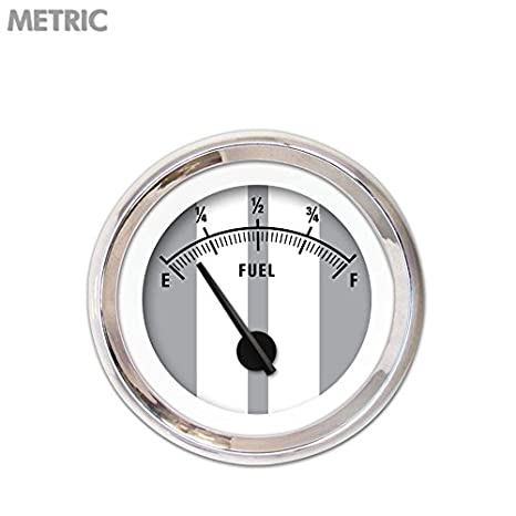 Aurora Instruments Cobra Gray Fuel Level Gauge 5757 GAR1124ZMXKABCC