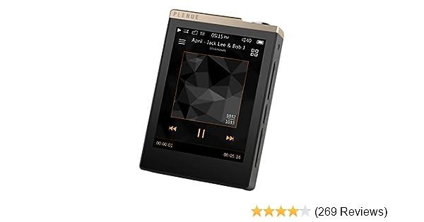 """COWON Plenue D Digital Media Player MP3 HiFi 24bit 32GB 2.8/"""" Touch"""