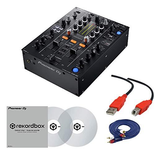 【2大特典】Pioneer DJ パイオニア/DJM-450 &コントロールバイナル(RB-VD1-CL) DVS セット   B07NQ63QR3